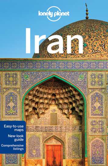 detail Iran průvodce 7th 2017 Lonely Planet