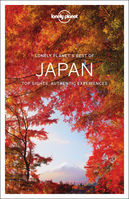 Best of Japan průvodce 1st 2017 Lonely Planet