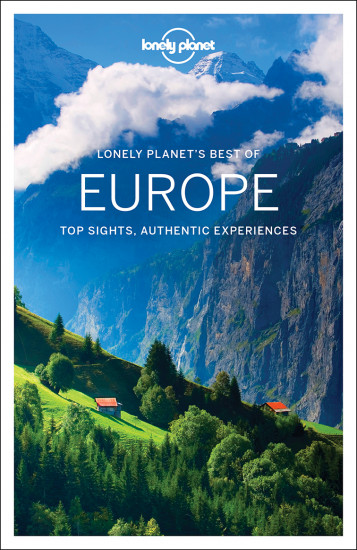 detail Best of Europe průvodce 1st 2017 Lonely Planet