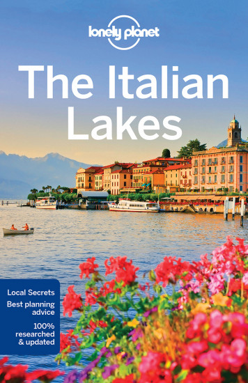detail Italian Lakes průvodce 3rd 2018 Lonely Planet