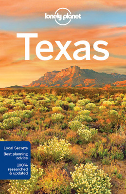 Texas průvodce 5th 2018 Lonely Planet