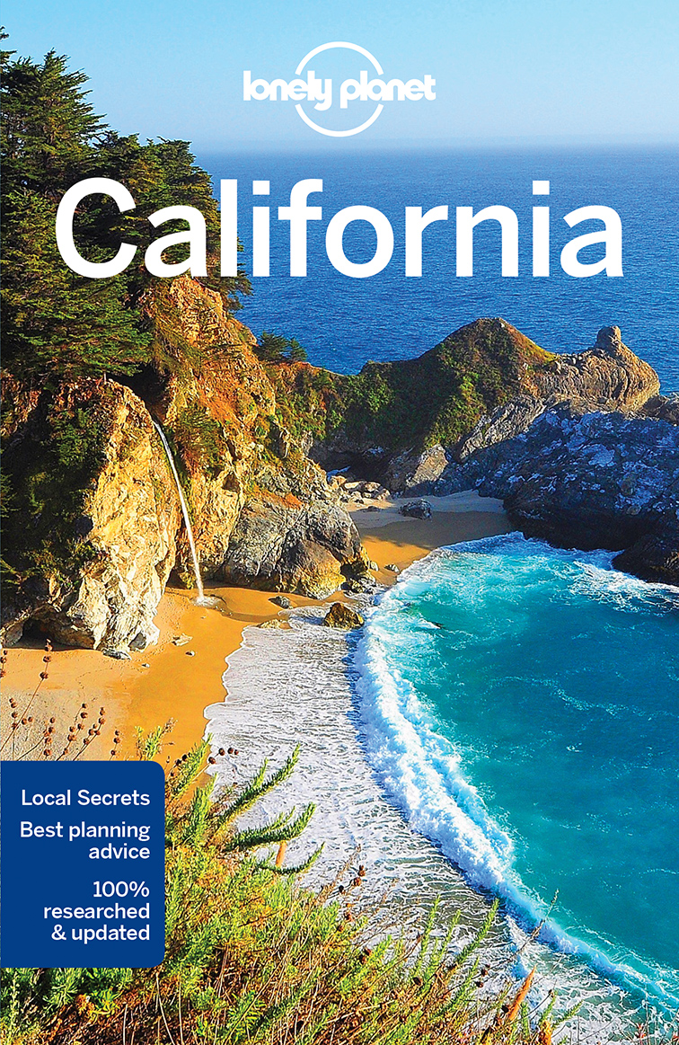 Kalifornie (California) průvodce 8th 2018 Lonely Planet