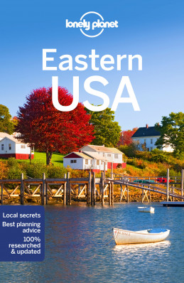 Eastern USA průvodce 4th 2018 Lonely Planet