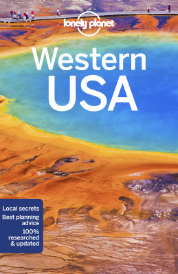 Western USA průvodce 4th 2018 Lonely Planet