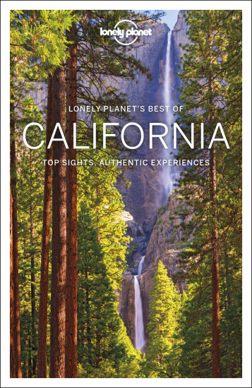 detail Best of California průvodce 1st 2018 Lonely Planet