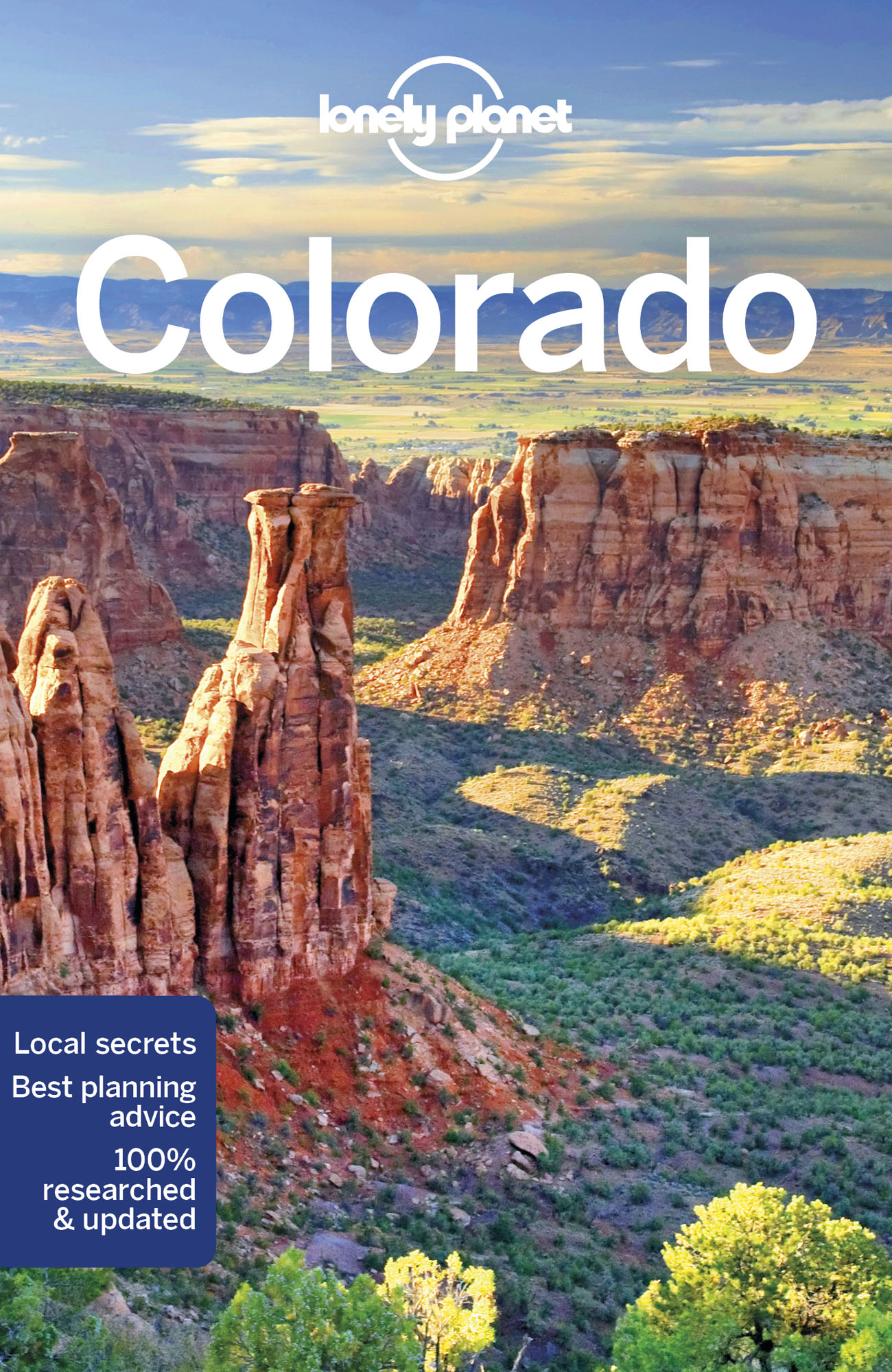 Colorado průvodce 3rd 2018 Lonely Planet