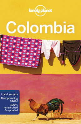 Kolumbie (Colombia) průvodce 8th 2018 Lonely Planet