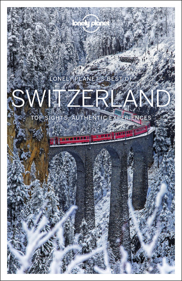 detail Best of Switzerland průvodce 1st Lonely Planet