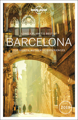 Best of Barcelona průvodce 3rd 2019 Lonely Planet