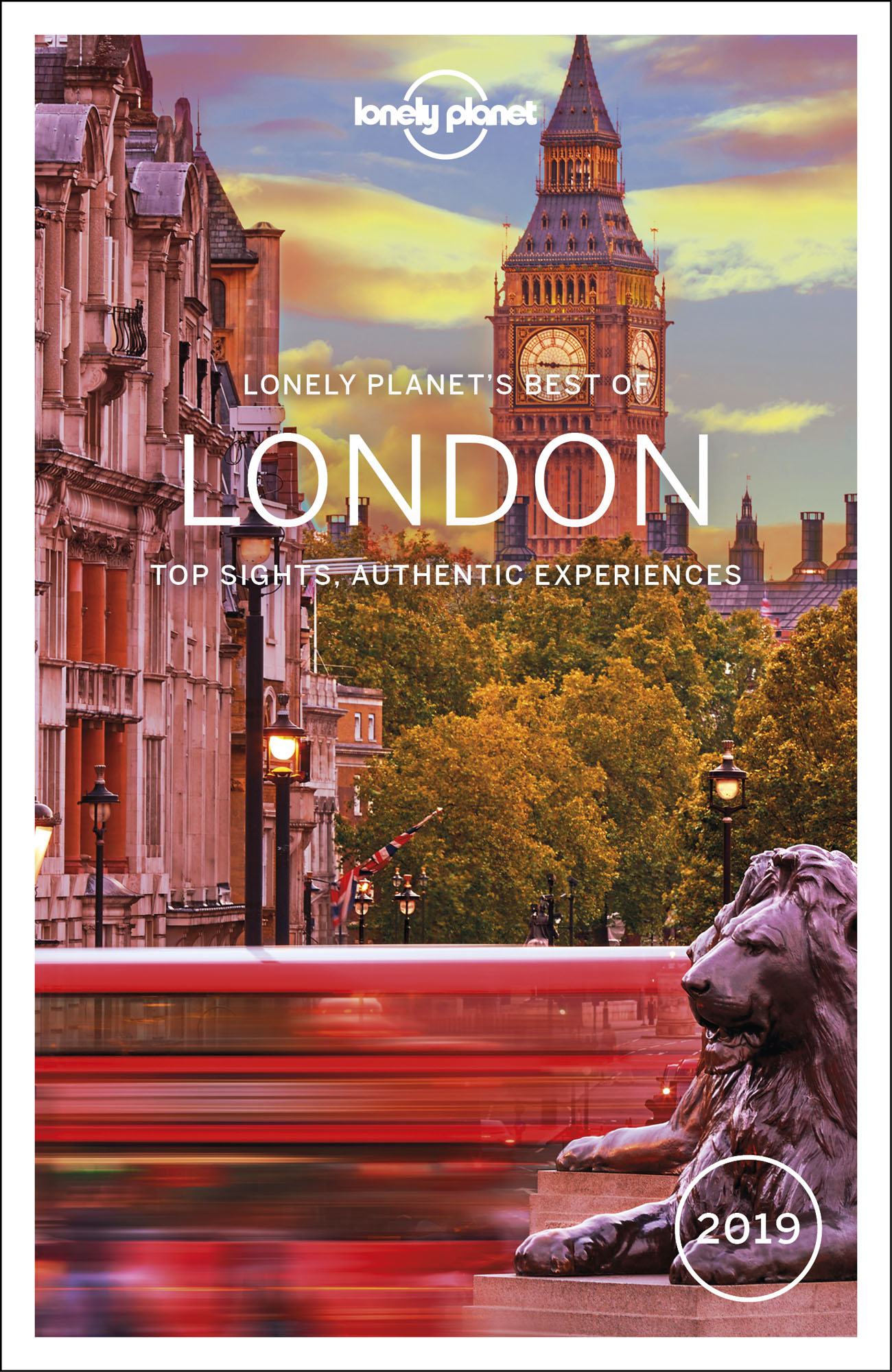 Best of London průvodce 3rd 2019 Lonely Planet