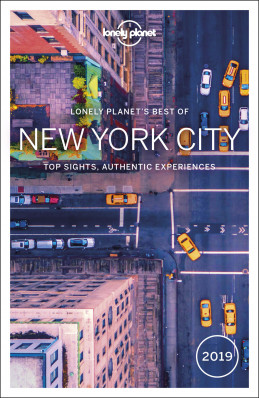 Best of New York City průvodce 3rd 2019 Lonely Planet