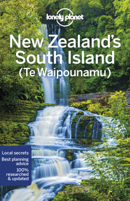 New Zealand South Island průvodce 6th 2018 Lonely Planet
