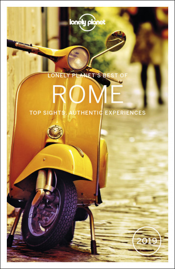 detail Best of Rome průvodce 3rd 2019 Lonely Planet