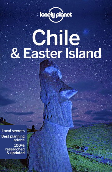 detail Chile & Velikonoční o. (Chile & Easter Islands) průvodce 11th 2018 Lonely Planet
