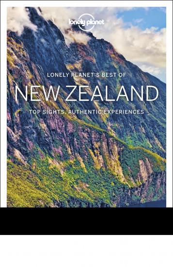 detail Best of New Zealand průvodce 2nd 2018 Lonely Planet