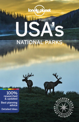 USA National Parks průvodce 2nd 2019 Lonely Planet