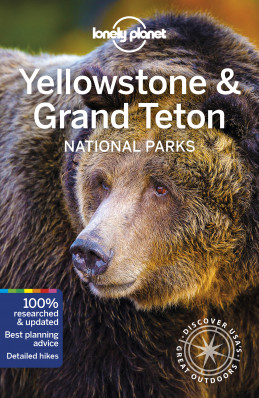 Yellowstone & Grand Teton Nation Park průvodce 5th 2019 Lonely Planet