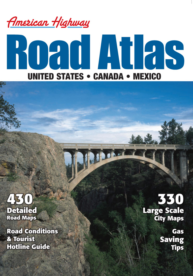 USA Road Atlas A3 MapQuest