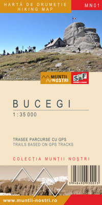 Bucegi Mountains 1:35 000