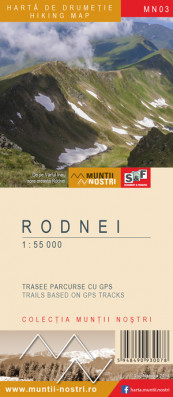 Rodnei Mountains 1:55 000
