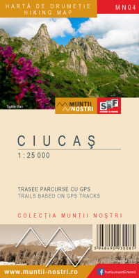 Ciucas Mountains 1:25 000