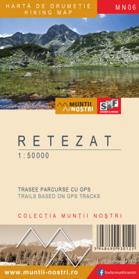 Retezat Mountains 1:50 000