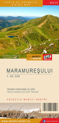 Maramures 1:65 000 Country Tourist Map