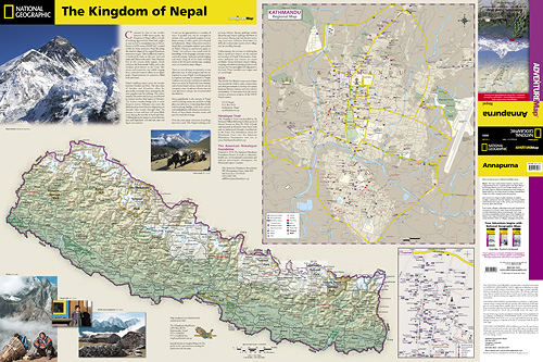 detail Annapurna (Nepál) Adventure Map GPS komp. NGS