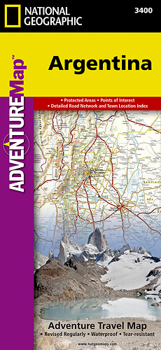 Argentina Adventure Map GPS komp. NGS