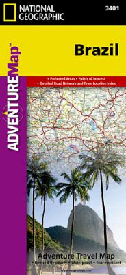 Brazílie Adventure Map GPS komp. NGS