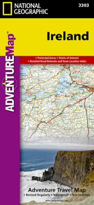 Irsko Adventure Map GPS komp. NGS