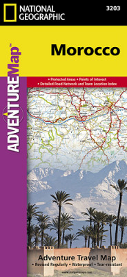 Maroko Adventure Map GPS komp. NGS