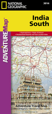 Indie Jih Adventure Map GPS komp. NGS