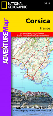 Korsika Adventure Map GPS komp. NGS