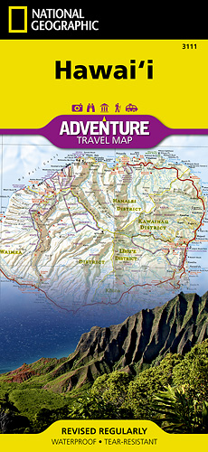 detail Hawai Adventure Map GPS komp. NGS