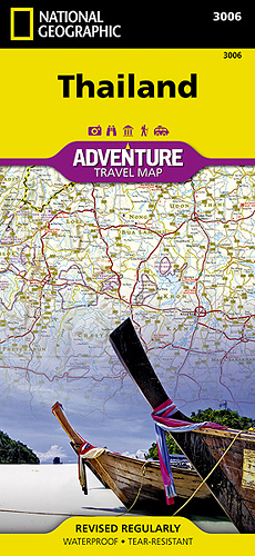 Thajsko Adventure Map GPS komp. NGS