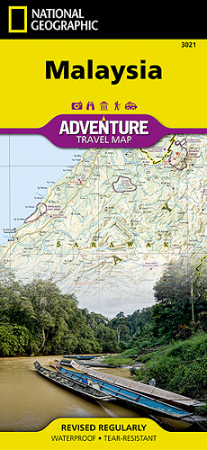 Malajsie Adventure Map GPS komp. NGS