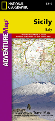 Sicílie Adventure Map GPS komp. NGS