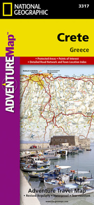 Kréta Adventure Map GPS komp. NGS
