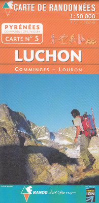 #5 Luchon, Comminges, Louron 1:50t mapa RANDO