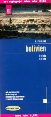 Bolívie 1:1,3m mapa RKH