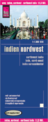 Indie Severozápad (India North-West) 1:1,3m mapa RKH