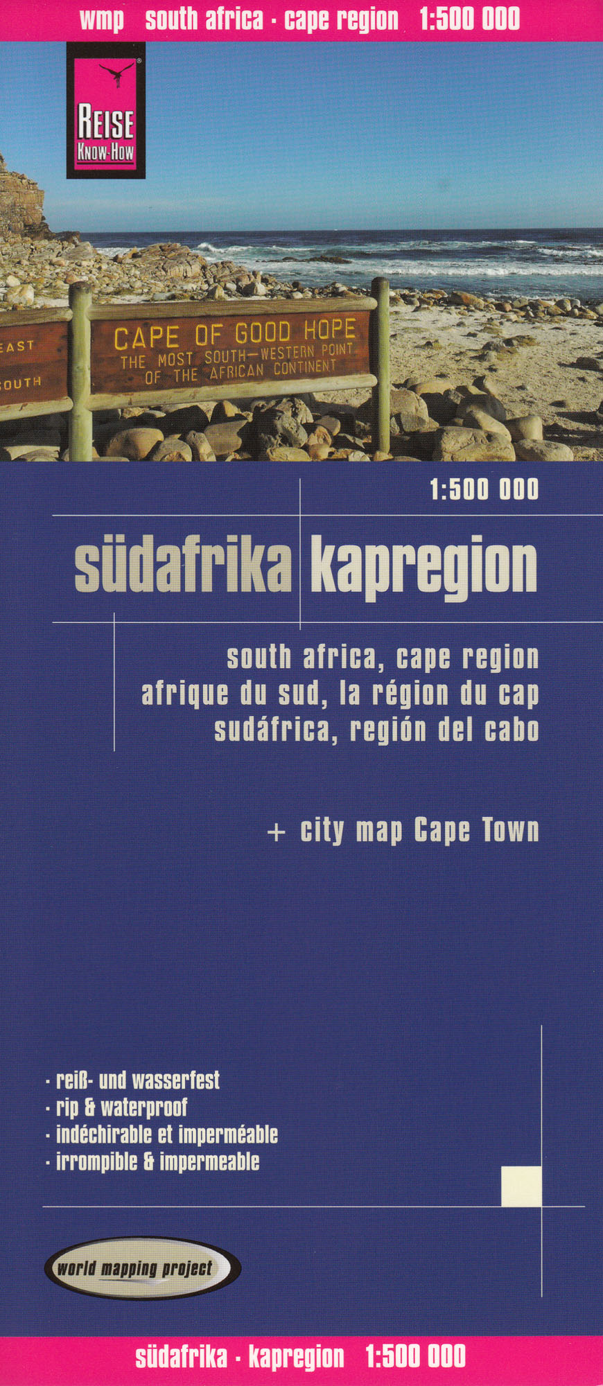 JAR (South Africa) - Cape Region 1:500t mapa RKH