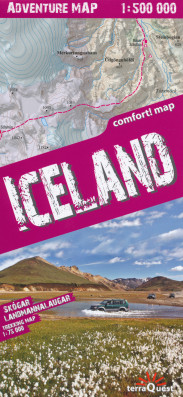 Island (Iceland) Adventure Map 1:75.000 / 500.000 TQ