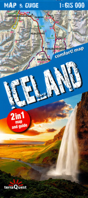 Island (Iceland) Map & Guide 1:615.000 TQ